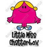 Mr Men and Little Miss Chatterbox T Shirt Iron on Transfer Decal #27 by www.shopironons.com