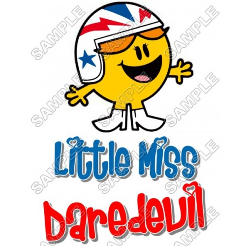 Mr Men and Little Miss Daredevil T Shirt Iron on Transfer Decal #40 by www.shopironons.com