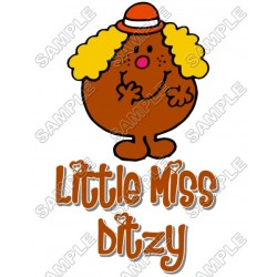 Mr Men and Little Miss Ditzy T Shirt Iron on Transfer Decal #28