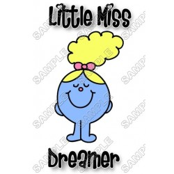 Mr Men and Little Miss Dreamer T Shirt Iron on Transfer Decal #36
