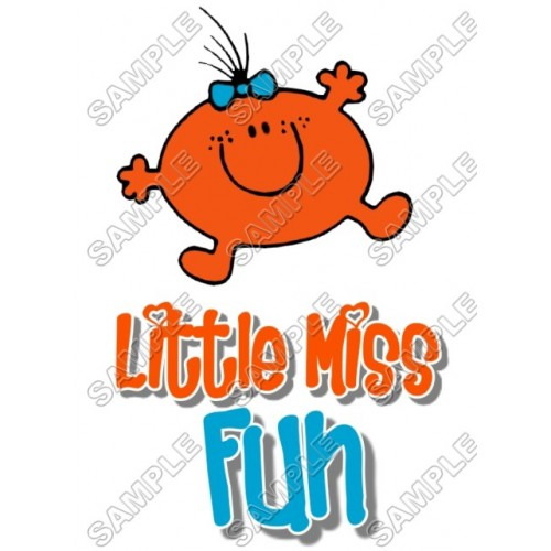 Mr Men and Little Miss Fun T Shirt Iron on Transfer Decal #29 by www.shopironons.com