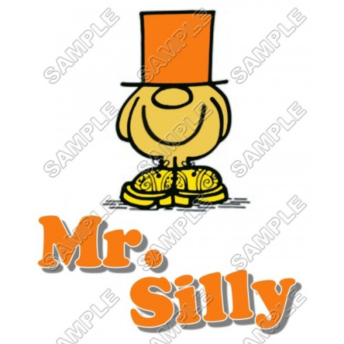 Mr Men and Little Miss Mr. Silly T Shirt Iron on Transfer Decal #23 by www.shopironons.com
