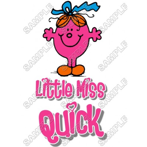 Mr Men and Little Miss Quick T Shirt Iron on Transfer Decal #51 by www.shopironons.com