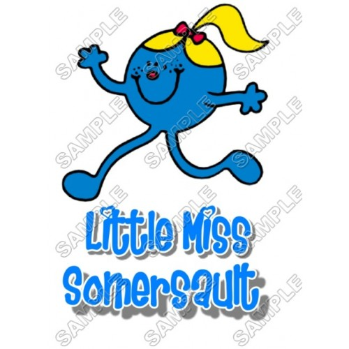 Mr Men and Little Miss Somersault T Shirt Iron on Transfer Decal #55 by www.shopironons.com