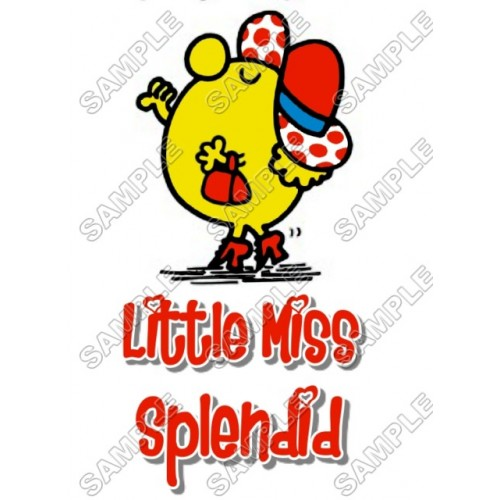 Mr Men and Little Miss Splendid T Shirt Iron on Transfer Decal #54 by www.shopironons.com