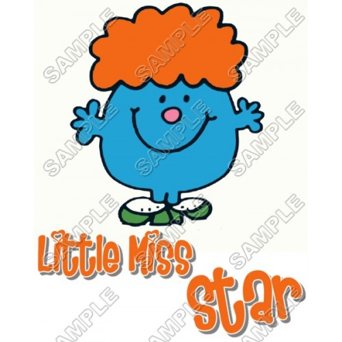 Mr Men and Little Miss Star T Shirt Iron on Transfer Decal #52 by www.shopironons.com