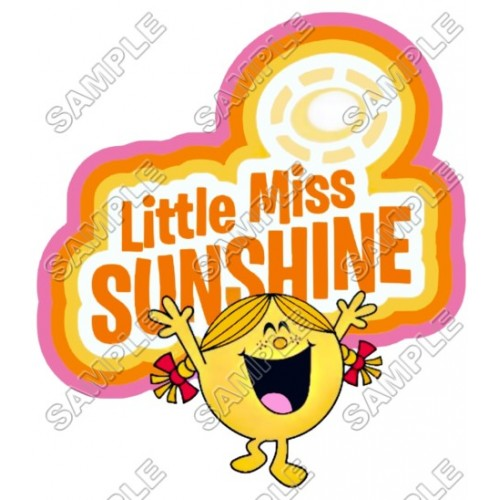 Mr Men and Little Miss Sunshine T Shirt Iron on Transfer Decal #31 by www.shopironons.com