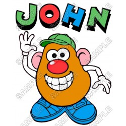 Mr. Potato Head Toy Story Personalized Custom T Shirt Iron on Transfer Decal #18