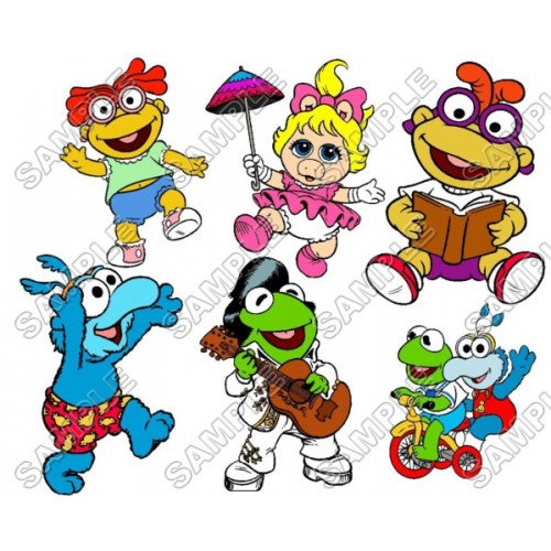 Muppet Babies T Shirt Iron on Transfer Decal #1 by www.shopironons.com