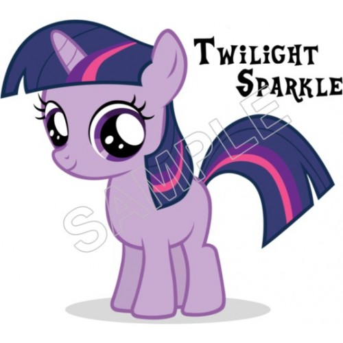 My Little Pony Twilight Sparkle T Shirt Iron on Transfer Decal #2 by www.shopironons.com