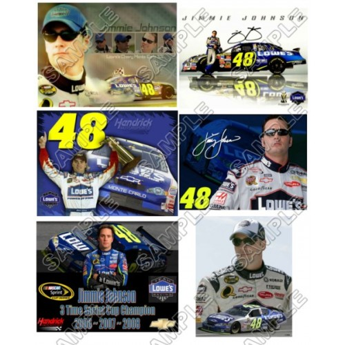 NASCAR Jimmie Johnson T Shirt Iron on Transfer Decal #2 by www.shopironons.com
