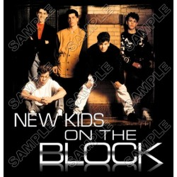 New Kids on the Block T Shirt Iron on Transfer Decal #2