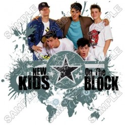 New Kids on the Block T Shirt Iron on Transfer Decal #3