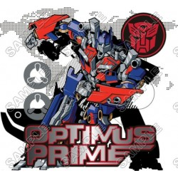Optimus Prime Transformers T Shirt Iron on Transfer Decal #1