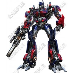 Optimus Prime Transformers T Shirt Iron on Transfer Decal #12