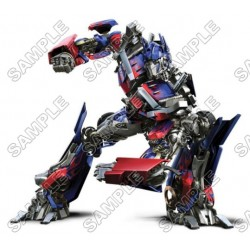 Optimus Prime Transformers T Shirt Iron on Transfer Decal #2
