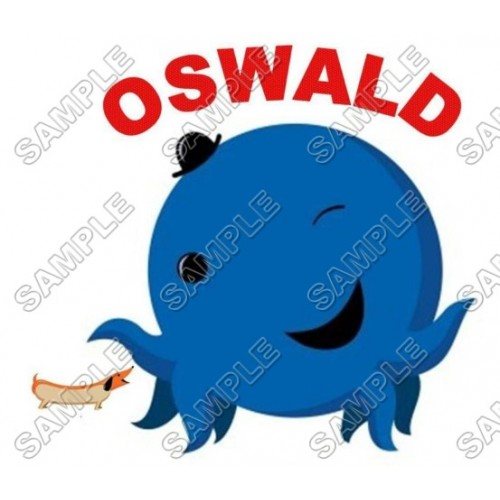 Oswald the Octopus T Shirt Iron on Transfer Decal #1 by www.shopironons.com