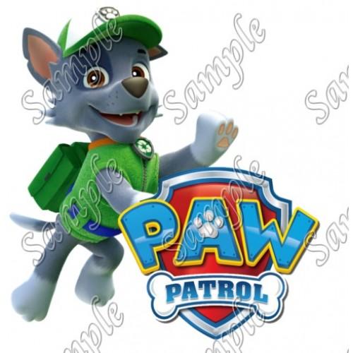 PAW Patrol Rocky T Shirt Iron on Transfer Decal #82 by www.shopironons.com
