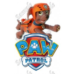 PAW Patrol Zuma T Shirt Iron on Transfer Decal #86