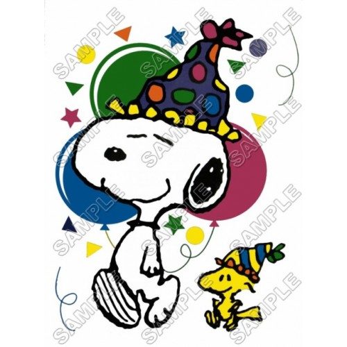 Peanuts, Snoopy, Charlie Brown Birthday T Shirt Iron on Transfer Decal #2 by www.shopironons.com