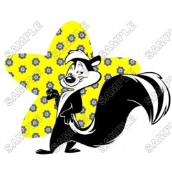 Pepé Le Pew T Shirt Iron on Transfer Decal #3