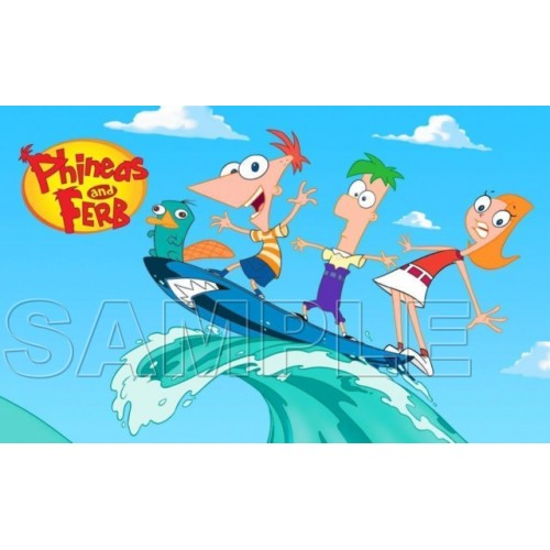 Phineas & Ferb T Shirt Iron on Transfer Decal #11 by www.shopironons.com