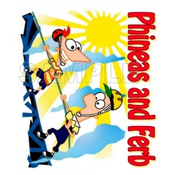 Phineas & Ferb T Shirt Iron on Transfer Decal #4