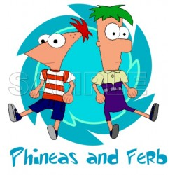Phineas & Ferb T Shirt Iron on Transfer Decal #6