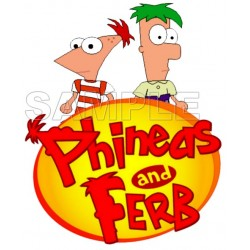 Phineas & Ferb T Shirt Iron on Transfer Decal #7