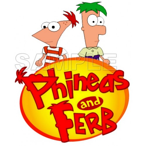Phineas & Ferb T Shirt Iron on Transfer Decal #7 by www.shopironons.com