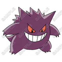 Pokemon Gengar T Shirt Iron on Transfer Decal #25