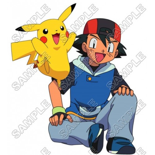 Pokemon T Shirt Iron on Transfer Decal #1 by www.shopironons.com