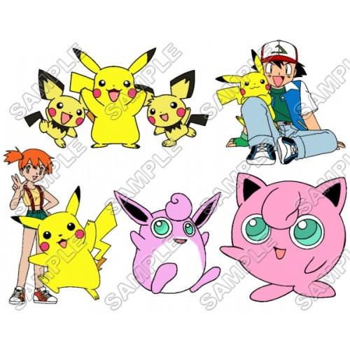 Pokemon T Shirt Iron on Transfer Decal #20 by www.shopironons.com