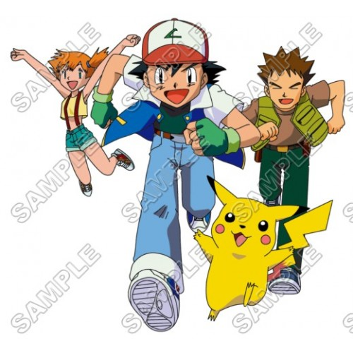 Pokemon T Shirt Iron on Transfer Decal #7 by www.shopironons.com