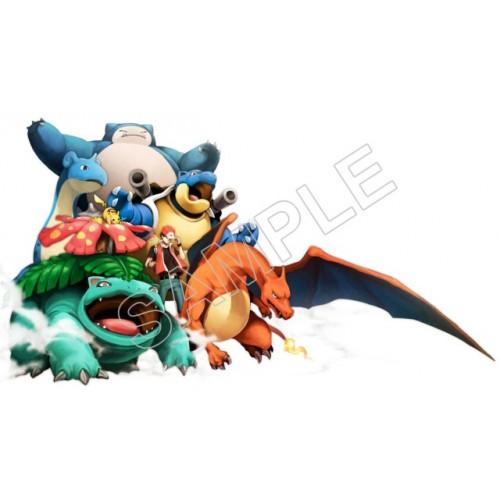 Pokemon T Shirt Iron on Transfer Decal #70 by www.shopironons.com