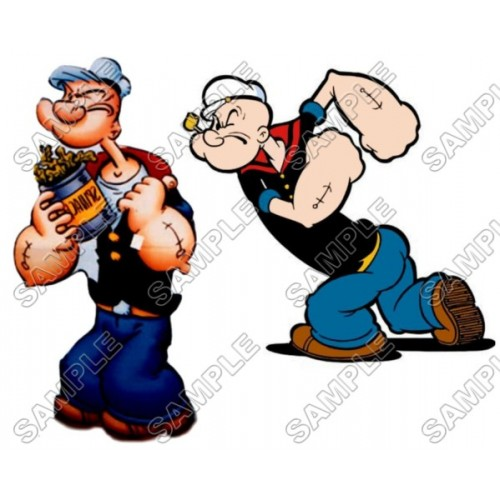 Popeye T Shirt Iron on Transfer Decal #11 by www.shopironons.com
