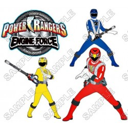 Power Rangers: Samurai T Shirt Iron on Transfer Decal #1