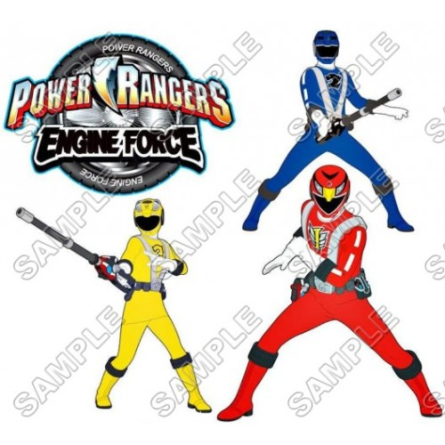 Power Rangers: Samurai T Shirt Iron on Transfer Decal #1 by www.shopironons.com
