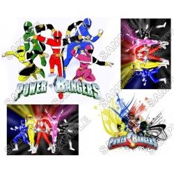 Power Rangers: Samurai T Shirt Iron on Transfer Decal #2