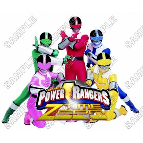 Power Rangers: Samurai T Shirt Iron on Transfer Decal #4 by www.shopironons.com