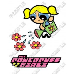 Powerpuff Girls T Shirt Iron on Transfer Decal #2