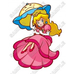Princess Peach Super Mario T Shirt Iron on Transfer Decal #6