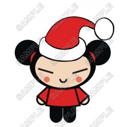 Pucca Christmas T Shirt Iron on Transfer Decal #57