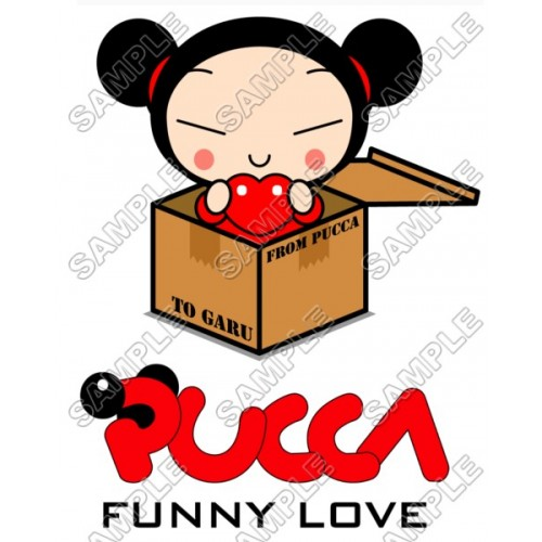 Pucca Valentines T Shirt Iron on Transfer Decal #6 by www.shopironons.com