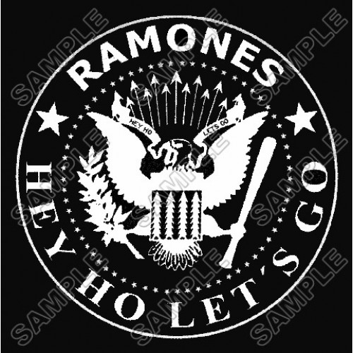Ramones T Shirt Iron on Transfer Decal #2 by www.shopironons.com