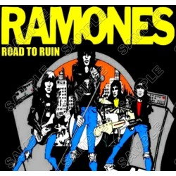 Ramones T Shirt Iron on Transfer Decal #3