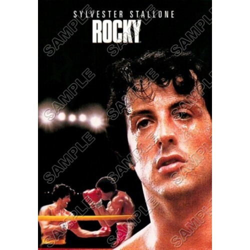 Rocky Balboa Stallone T Shirt Iron on Transfer Decal #1 by www.shopironons.com