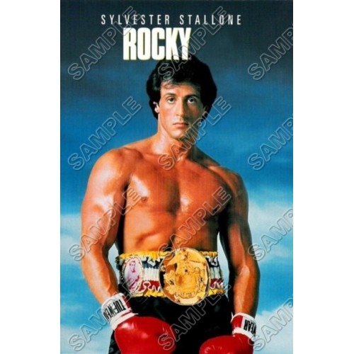 Rocky Balboa Stallone T Shirt Iron on Transfer Decal #2 by www.shopironons.com
