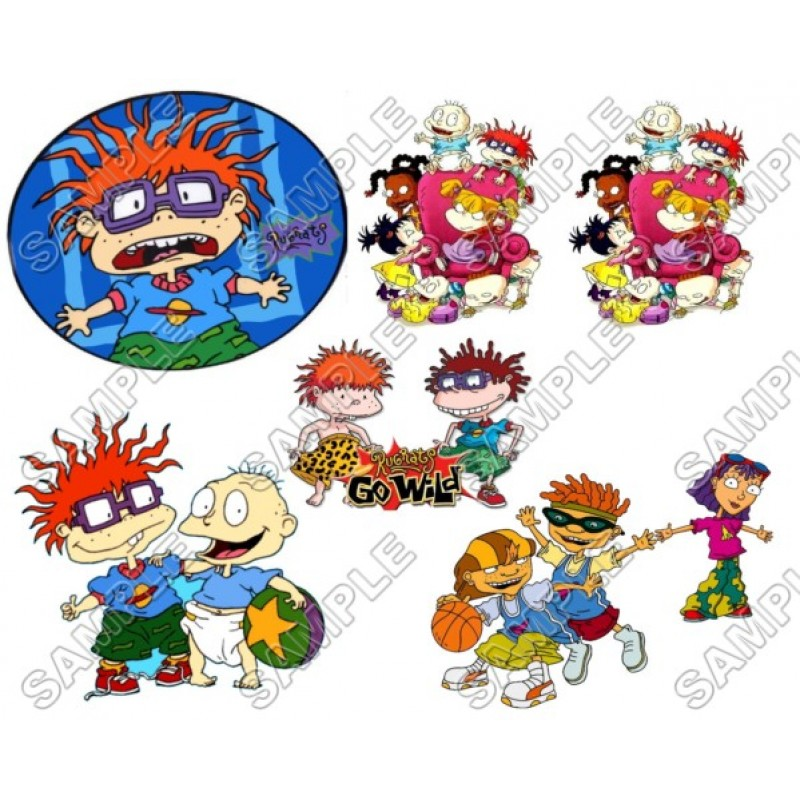 Rugrats Iron On Transfer For T-Shirt /& Other Light Color Fabrics #3