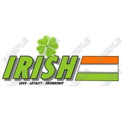Saint Patrick's ~ Irish~ T Shirt Iron on Transfer Decal #2